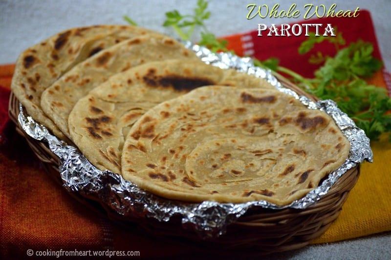 Whole Wheat Parotta   Coin Parotta   Barotta Recipe