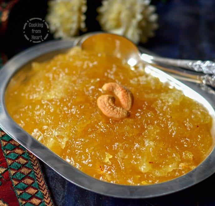 Kasi Halwa   Poosanikai Halwa   Diwali Special Recipes