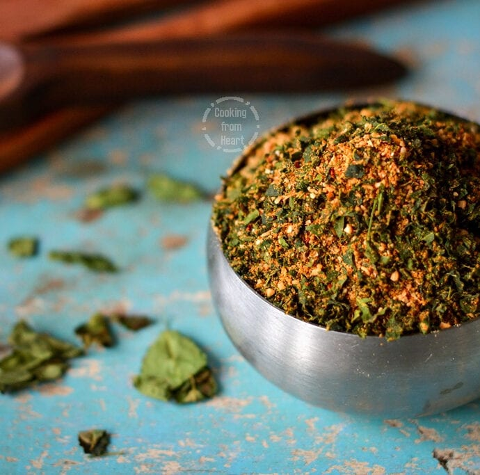 Murungai Keerai Podi   Moringa Leaves Chutney Powder