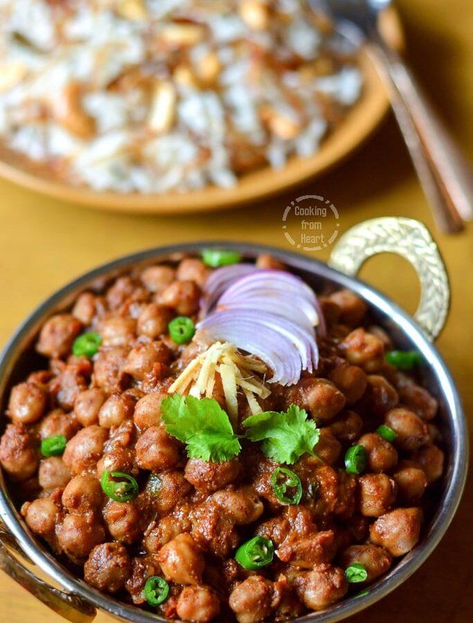 Pindi Chole | Punjabi Pindi Chana