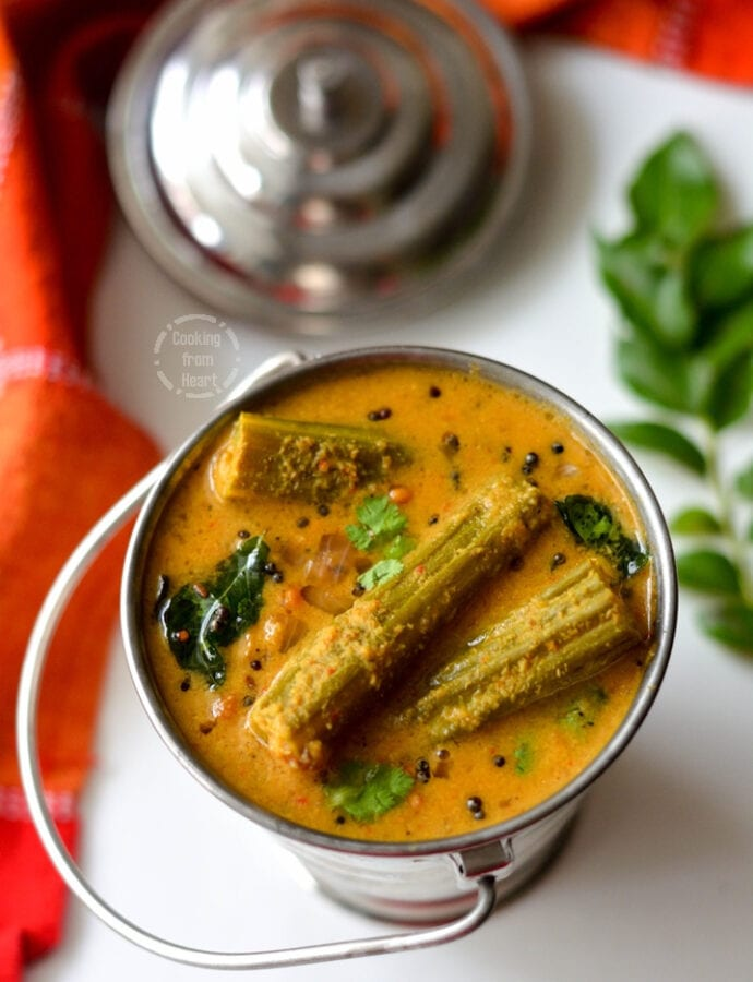 Nurge Gashie | Mangalore Style Spicy Drumstick Curry