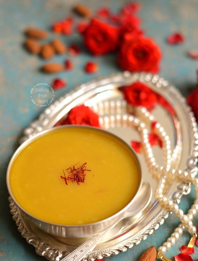 Badam Halwa   Easy Badam Halwa Recipe   Almond Halwa