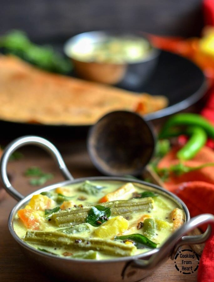 Aviyal   Easy Avial Recipe with Curd