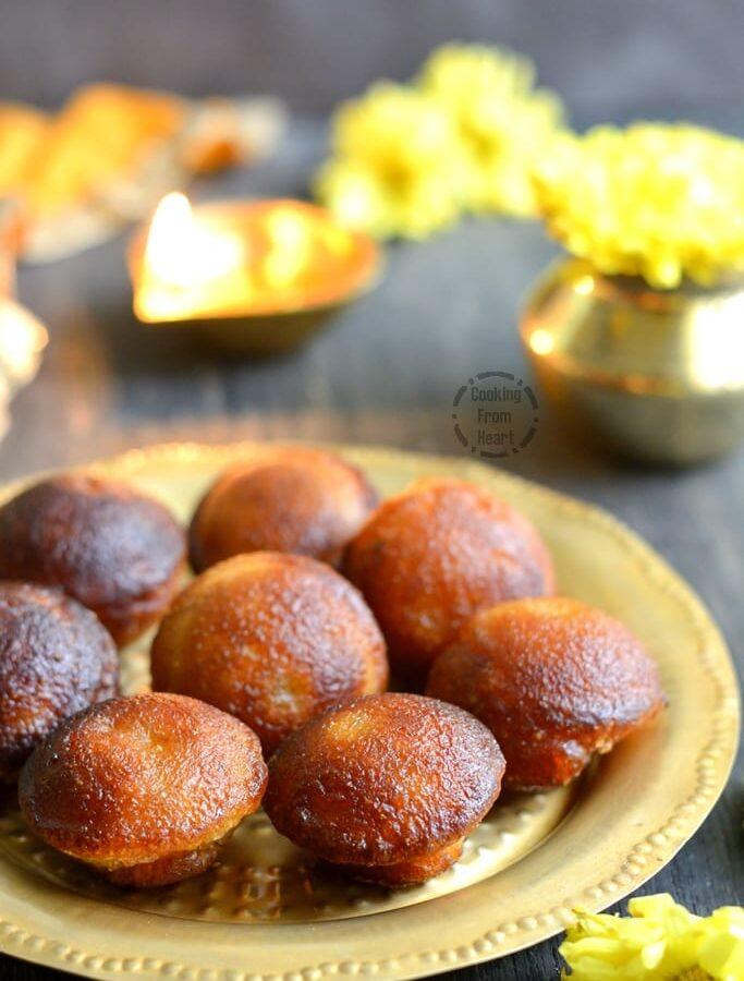 Nei Appam   Easy Sweet Paniyaram