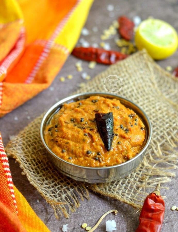 Pesara Pachadi | Pesara Pappu Pachadi | Moong Dal Chutney