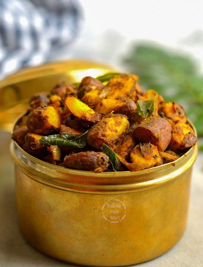 Palakottai Varuval | Jackfruit Seeds Roast