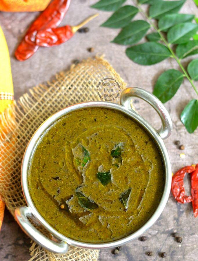 Poondu Milagu Kuzhambu | Garlic Pepper Curry