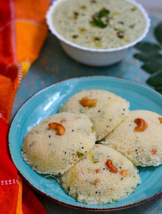Rava Idli | How to make MTR Style Rava Idli