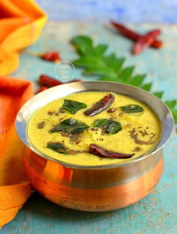 Mambazha Pulissery | Kerala Ripe Mango Curry