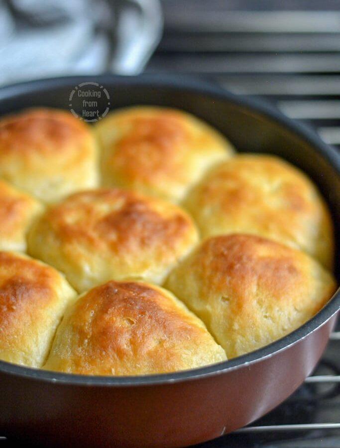 Sourdough Pav Buns | Buttery Soft Sourdough Dinner Rolls